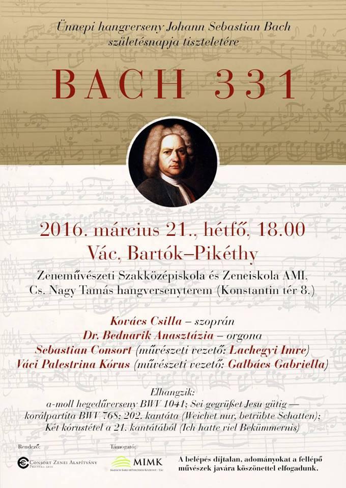 Bach koncert képviselői támogatással – A Házból jelentem
