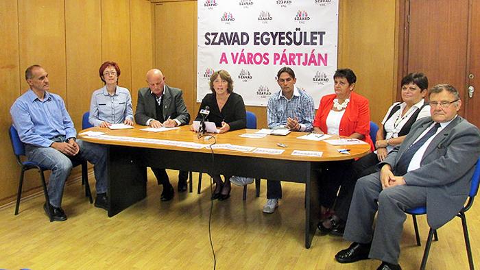 KAMPÁNY: Bemutatta jelöltjeit a SZAVAD Egyesület – Váci Napló Online