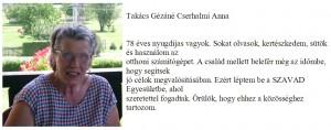 Takács Gézáné Cserhalmi Anna
