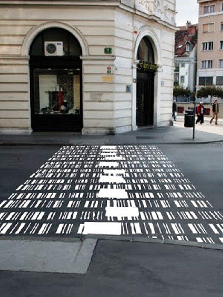 Se zebrák, se gyalogos átkelőhelyek