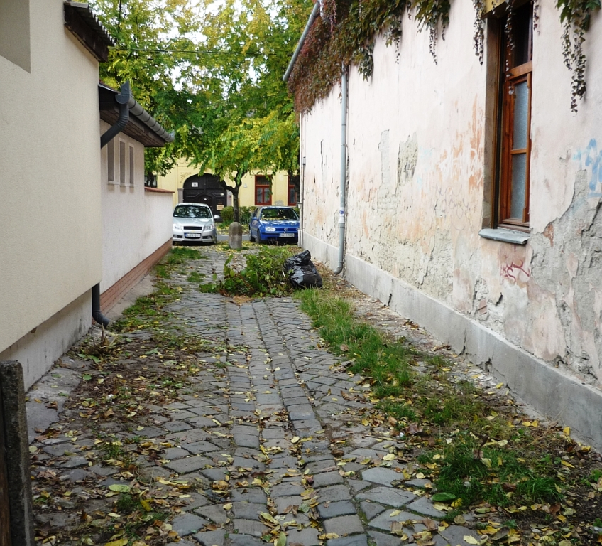 A szűk utcákat nem takarítja a holding – A Házból jelentem